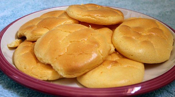 Cloud Bread, Food, Eat, Recipe, Display, Plate, Healthy
