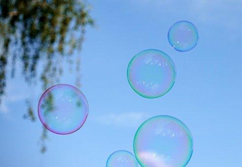 Soap Bubbles, Colorful, Fly, Make Soap Bubbles