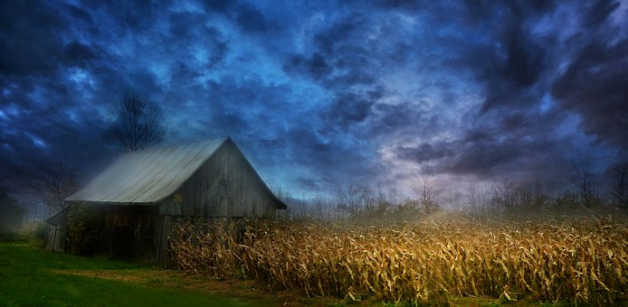 Sky, Scenic, Scenery, Landscape, Rural, Countryside