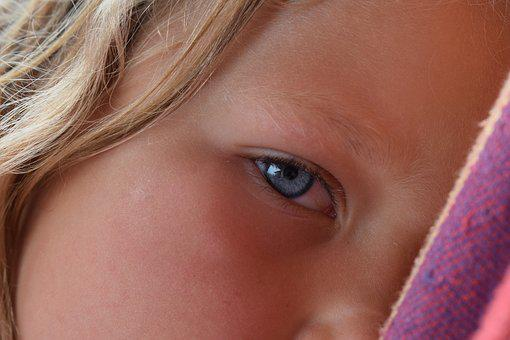 Children, Eye, Cute, Girl, Face, Main, Young, Eyes