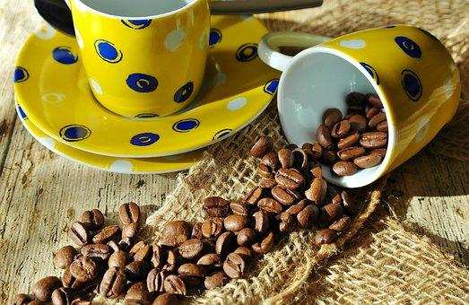 Coffee, Coffee Beans, Still Life, Drink, Espresso, Cup