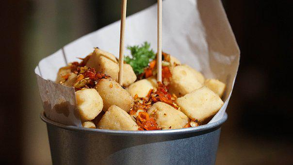 Tofu, Food, Finger Food, Delicious, Meal, Chinese