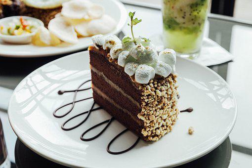 Cake, Desert, Food, Delicious, Marshmelow, Nutrition