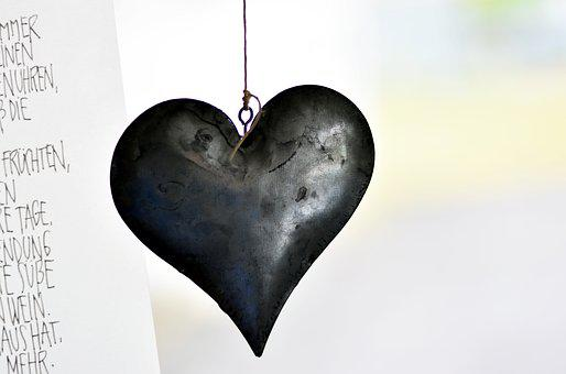 Heart, Iron, Metal, Metal Heart, Symbol, Love