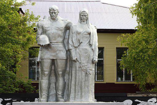 Park, Statue, Sculpture, Art, Historically, Bronze, Man
