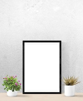 Poster, Mockup, Wall, Interior, Realistic, Indoors