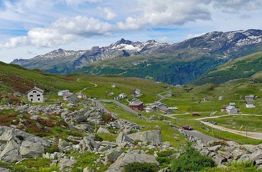 Mountains, Alpine, Nature, Landscape, Panorama, Italy
