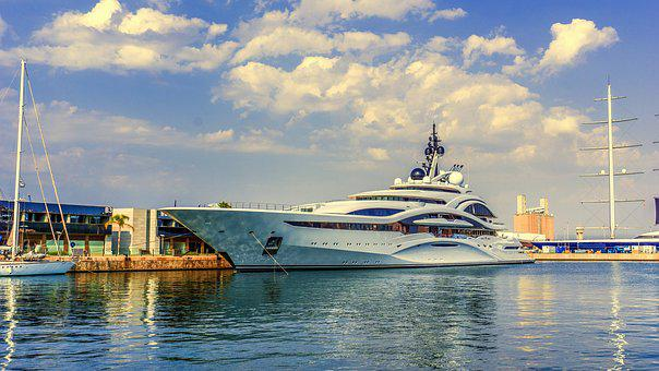Boat, Yacht, Marina, Port, Ship, Nautical, Luxurious