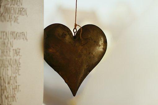Heart, Iron, Metal, Metal Heart, Symbol, Love