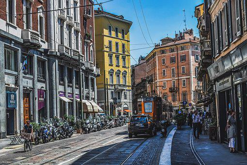 Italy, Milano, Milan, Street, Architecture, Lombardy