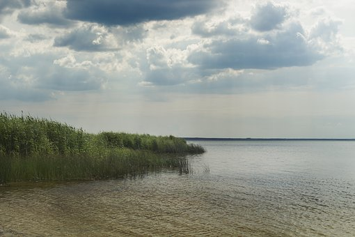 Lake, Clouds, Sky, Landscape, Reflection, Water, Mood