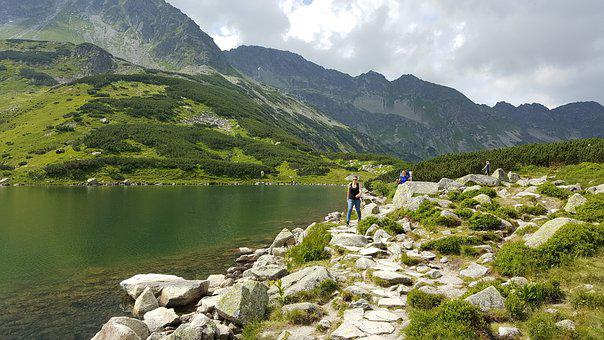 Mountains, Valley Of Five Ponds, Tatry, Landscape