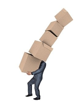 Man, Moving Boxes, Carrying Boxes, Move, Box, Moving