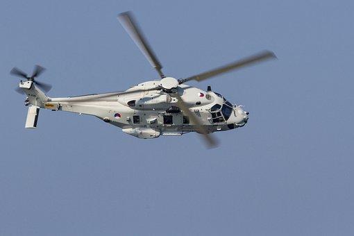 Nh-90, Helicopter, Flight, Sea, Helikopers, Fly, Heli