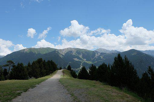 Andorra, Path, Viewpoint Roc Del Quer