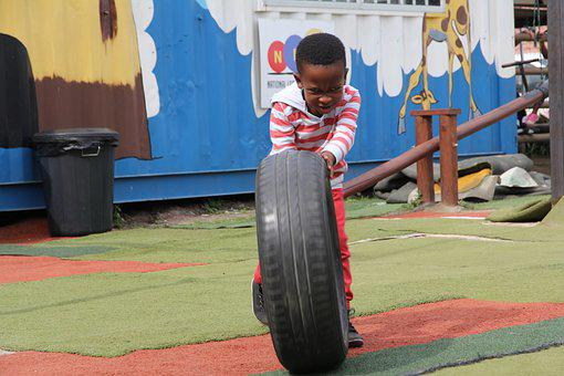 South Africa, Kindergarten, Boy, Mature, Play, Race