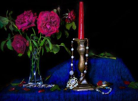 Rose, Flowers, Dark, Rosa, Petals, Romance, Petal