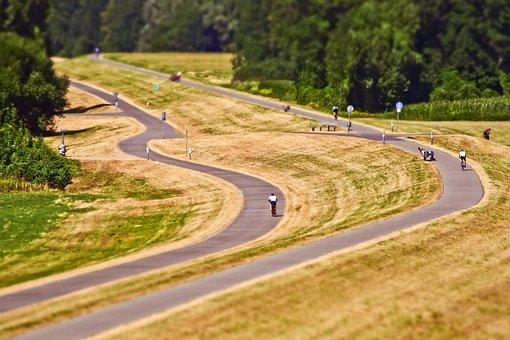 Way, Asphalt, Landscape, Nature, Direction, Route