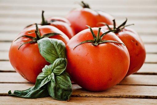 Tomatoes, Basil, Food, Alimentari, Sano, Cool, Italian