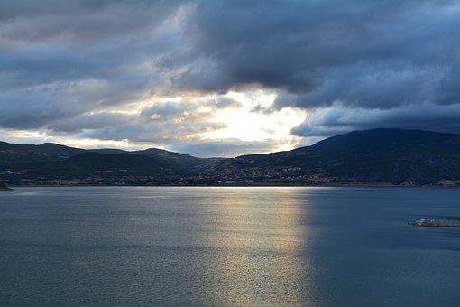 Lake, Marine, Water, Sky, Nature, Blue, Landscape