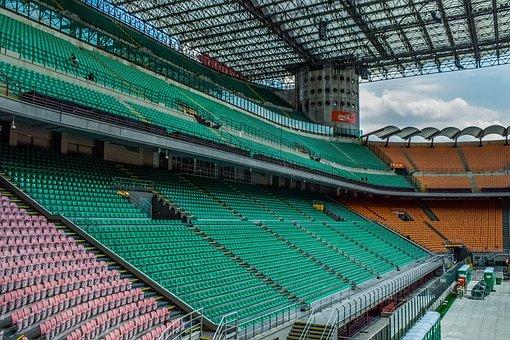 Stands, Stadium, Architecture, Construction, Modern
