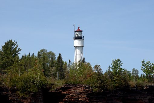 Devils Island Light, Wisconsin, Lighthouse, Structure