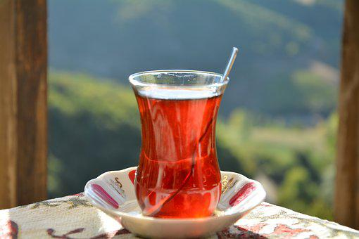 Tea, Nature, The Drink, Green, Landscape, Summer, Cup