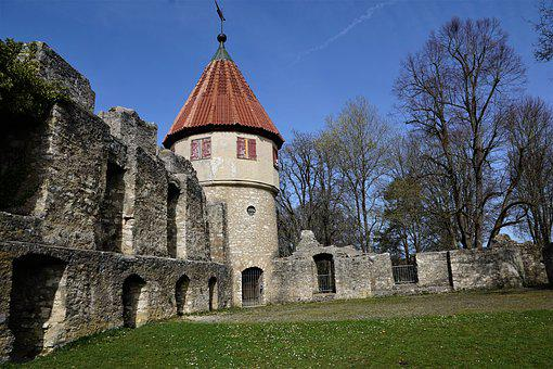Castle, Tuttlingen, Honing Mountain, Honing Castle