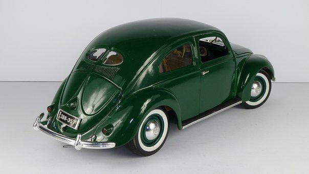 Vw Beetle, Vw Käfer, 1951, 1x18, Model Car, Maisto