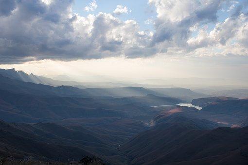 Southafrica, Za, Drakensberg, Mountains, Landscape