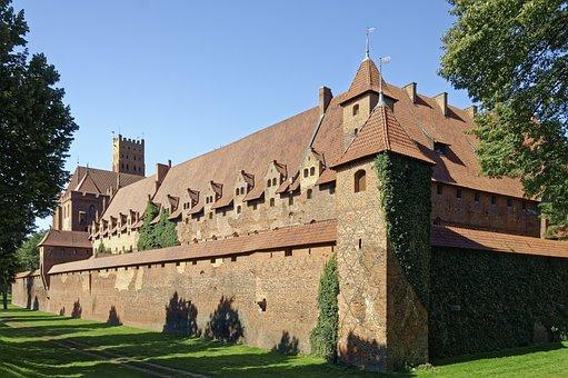 Poland, Malbork Castle, Zamek Malbork
