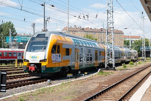 Railway, Germany, Rolling Stock, Train, Berlin, Track