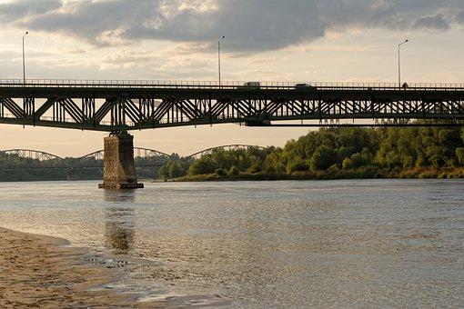 Bridge, River, Wisla, Bridges