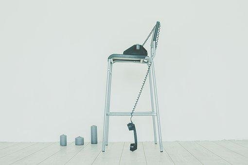 Photoshoot, White, Brightness, Concept, Chair, Phone