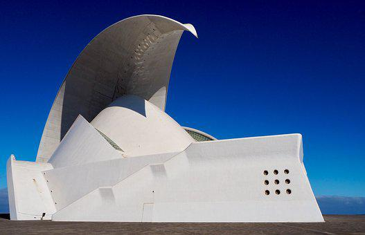 Architecture, Building, Modern, Structure, White