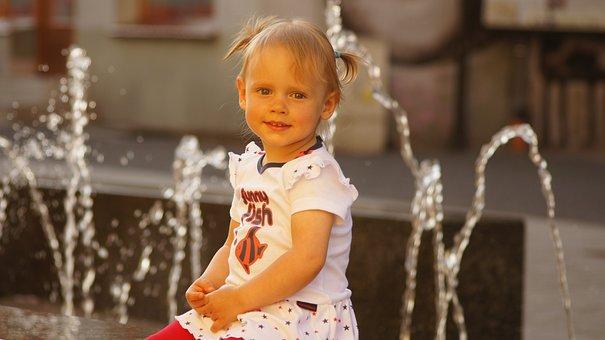The Little Girl, Child, Girl, Childhood, Children
