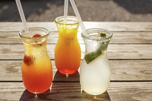 Drink, Lemonade, Refreshment, Summer, Lemon, Cold