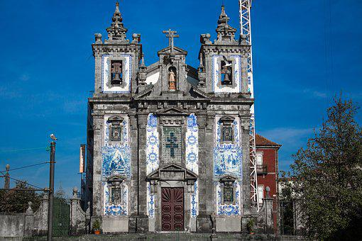 Porto, Church, Architecture, Construction, Art