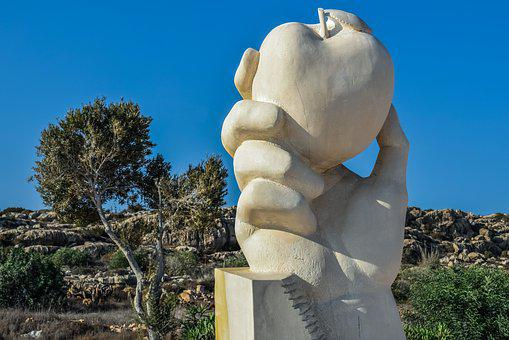 Cyprus, Ayia Napa, Sculpture Park, Sculpture, Marble