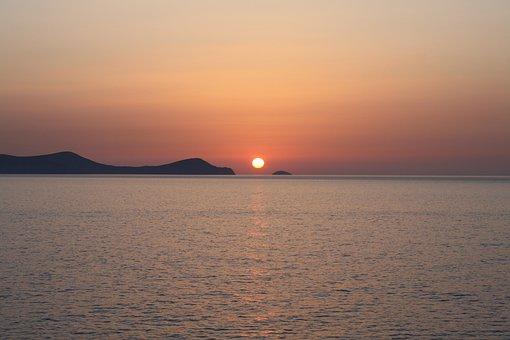 Sunrise, Dia Island, Crete, Kreta, Heraklion
