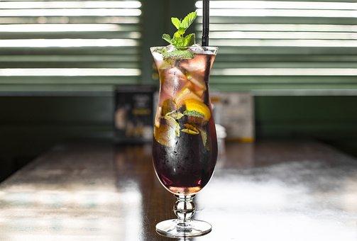 Cocktail, Lemonade, Fruit, Cold, Lemon, Juice, Drink