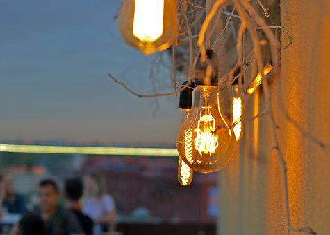 Evening, Illumination, Bulbs, Lamp, Lighting, Night