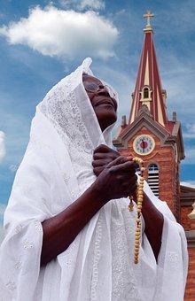Bogotá, Church, Pray, Rosario, Believer, Faith