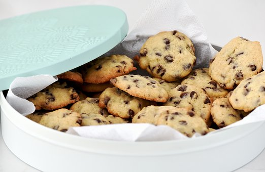 Baking, Tin, Cookies, Fresh, Delicious, Sweet