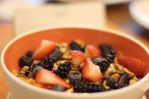 Cereal, Fruits, Orange