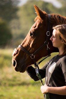 Cavalry, Woman, Human, Mammal, In The Free, Portrait