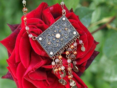 Jewellery, Rose, Romance