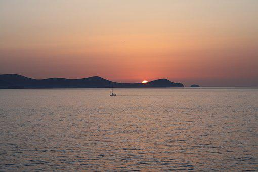 Sunrise, Dia Island, Crete, Kreta, Heraklion, M