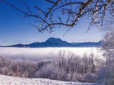 Traunstein, Salzkammergut, Upper Austria, Mountains