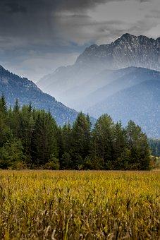 Karwendel, Alpine, Mountains, Landscape, Nature